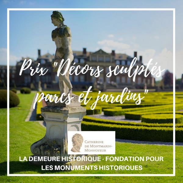 """Prix """"Décors sculptés parcs et jardins"""""""