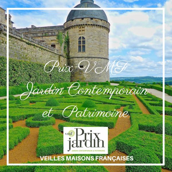 Prix VMF Jardin Contemporain et Patrimoine