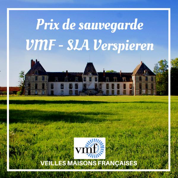 Prix de sauvegarde VMF - SLA Verspieren