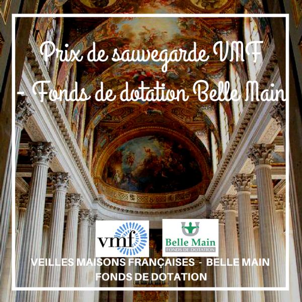 Prix de sauvegarde VMF - Fonds de dotation Belle Main