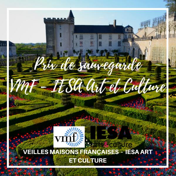 Prix de sauvegarde VMF - IESA Art et Culture