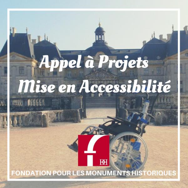 Appel à Projets Mise en Accessibilité