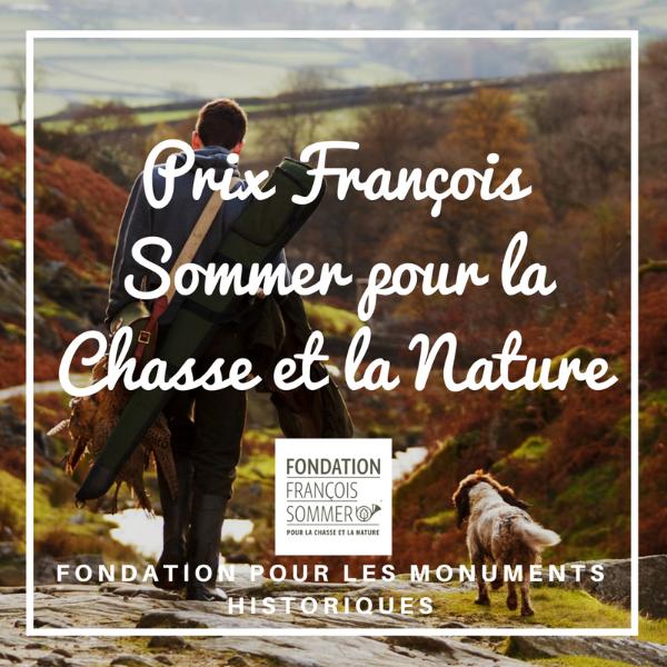 Prix François Sommer pour la Chasse et la Nature