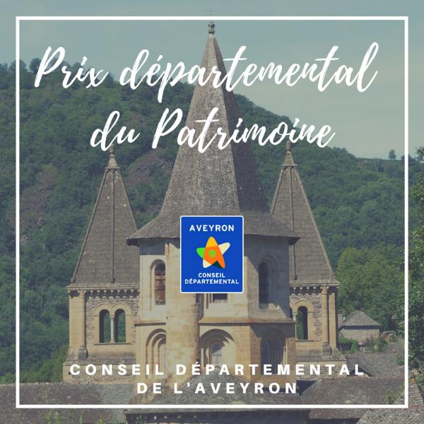 Prix départemental du patrimoine - Aveyron