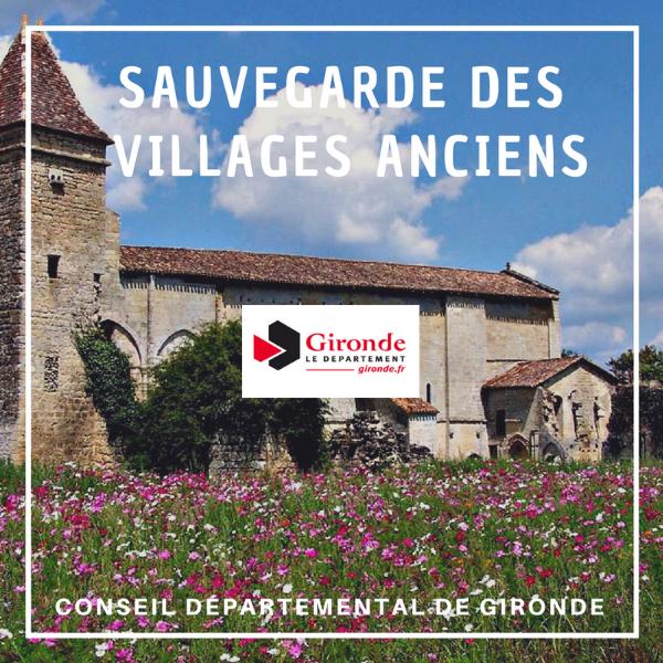 Sauvegarde des villages anciens - Gironde