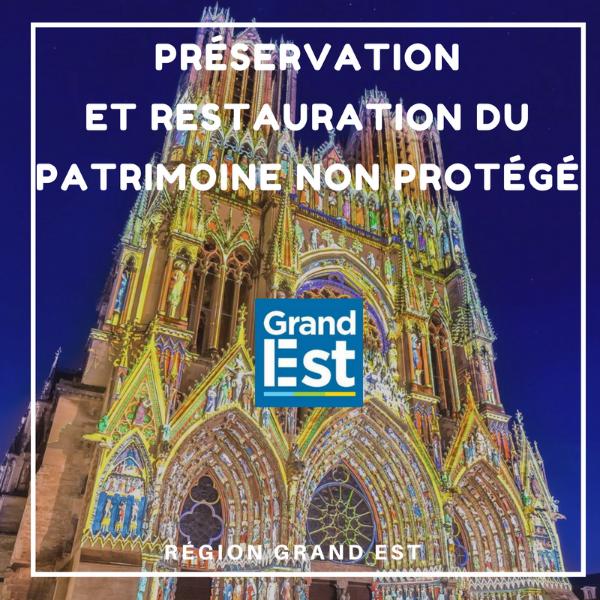 Préservation et restauration du patrimoine non protégé