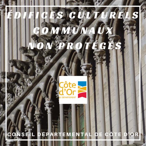 Édifices cultuels communaux non protégés - Côte-d'or