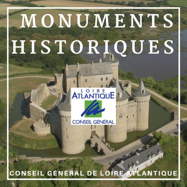 Monuments historiques immobiliers - Loire Antlantique