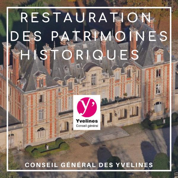 Restauration du Patrimoine historique - Yvelines