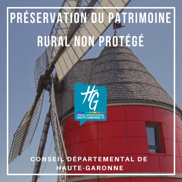 Préservation du patrimoine rural non protégé - Haute Garonne
