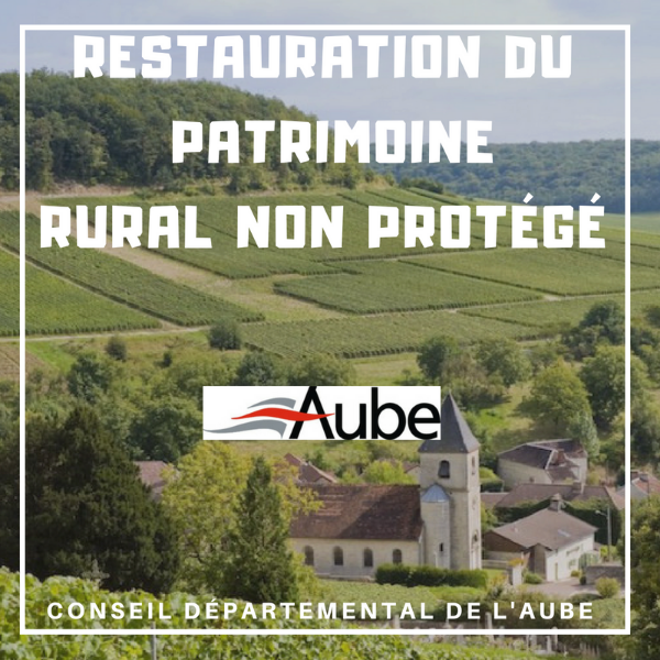 Restauration du patrimoine rural non protégé - Aube