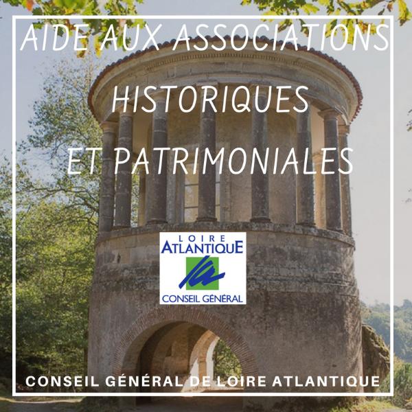 Aide aux associations historiques et patrimoniales - Loire Atlantique
