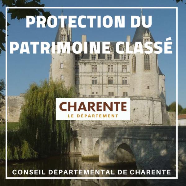 Protection du patrimoine classé - Charente