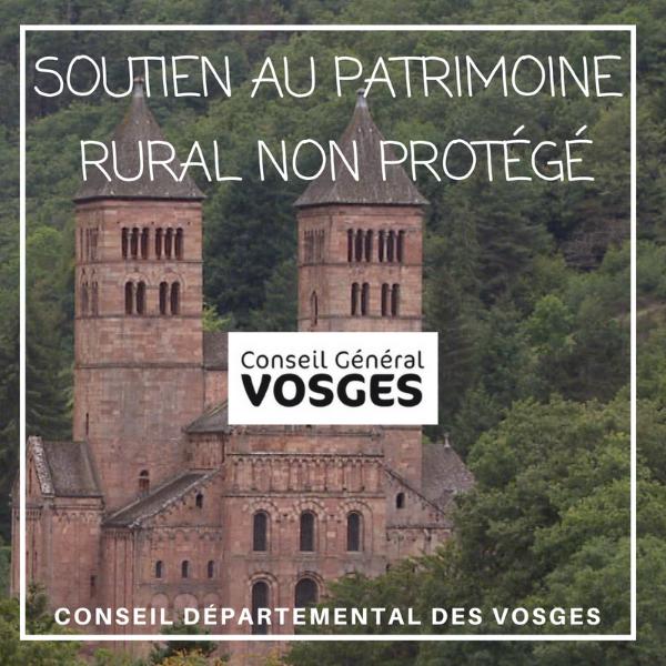 Soutien au patrimoine rural non protégé - Vosges