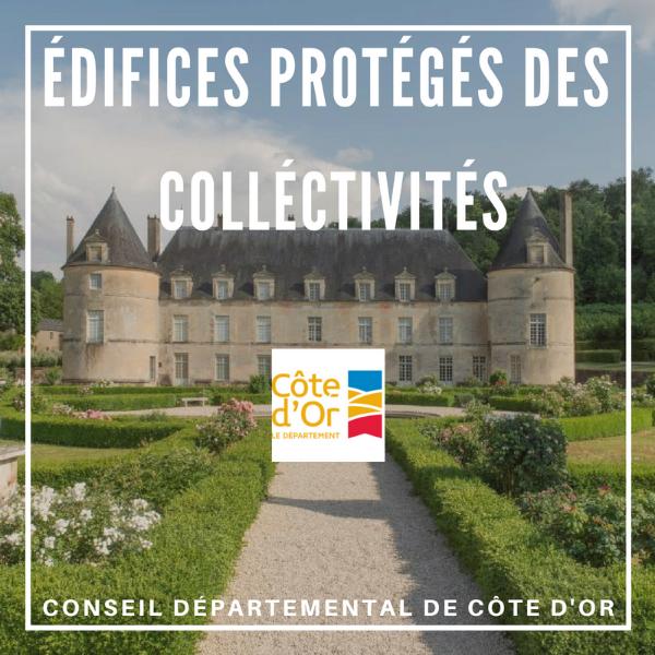 Édifices protégés des collectivités - Côte-d'or