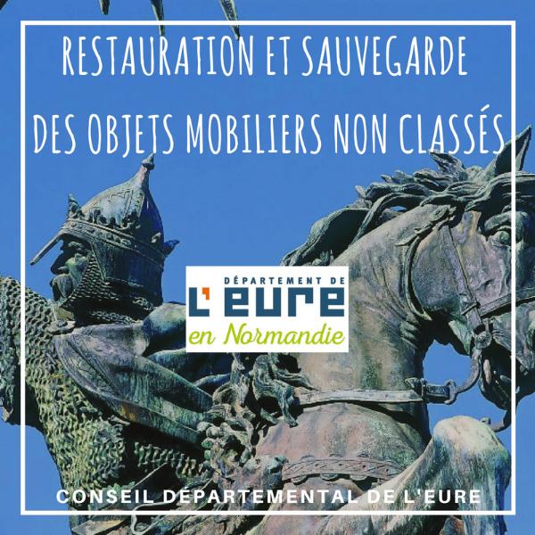 Restauration et sauvegarde des objets mobiliers non classés - Eure