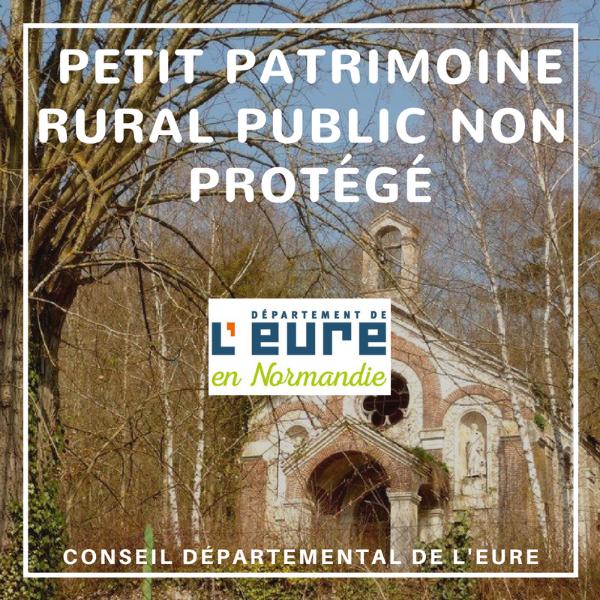 Restauration du petit patrimoine public non protégé - Eure
