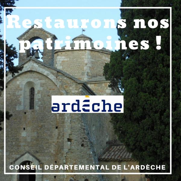 Restaurons notre patrimoine ! - Ardèche