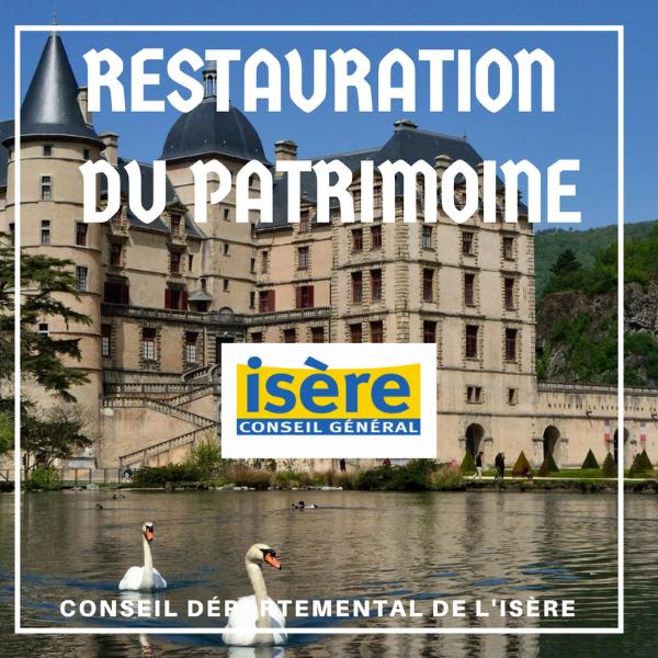 Restauration du patrimoine - Isère