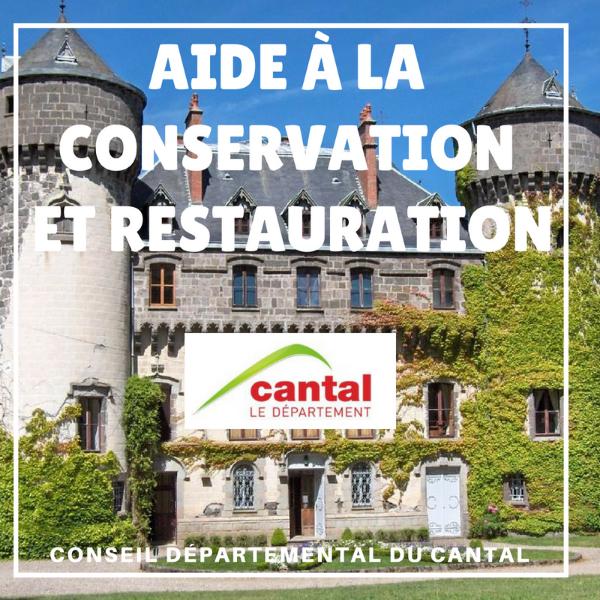Aides à la conservation et restauration des MH - Cantal