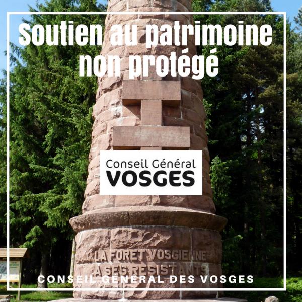 Soutien au patrimoine non protégé - Vosges