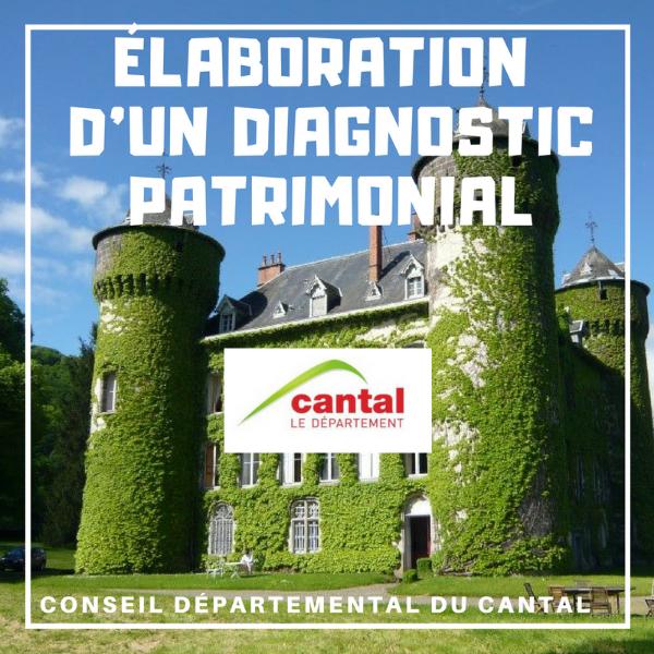 Élaboration d'un diagnostic patrimonial - Cantal