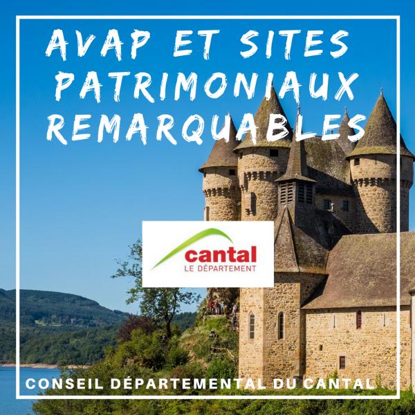 Aide de mise en valeur de l'architecture et du patrimoine - Cantal