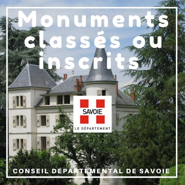 Restauration des monuments et sites classés ou inscrits - Savoie
