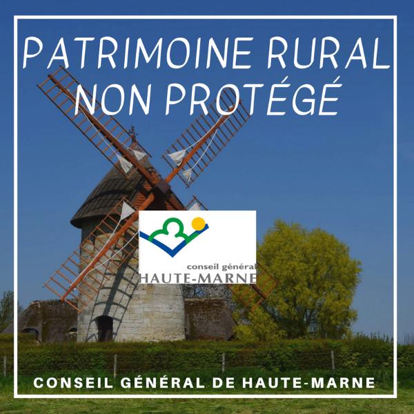 Aide à la conservation et à la restauration du patrimoine rural non protégé - Haute Marne