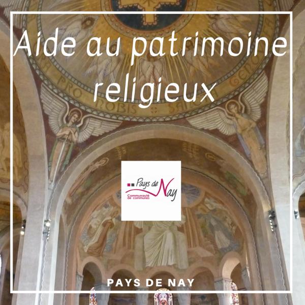 Aide au patrimoine religieux - Pays de Nay