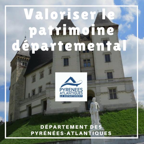 Valoriser le patrimoine départemental : châteaux et commanderies - Pyrénées Atlantiques