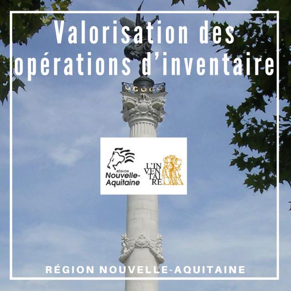 Valorisation des opérations d'inventaire - Nouvelle Aquitaine