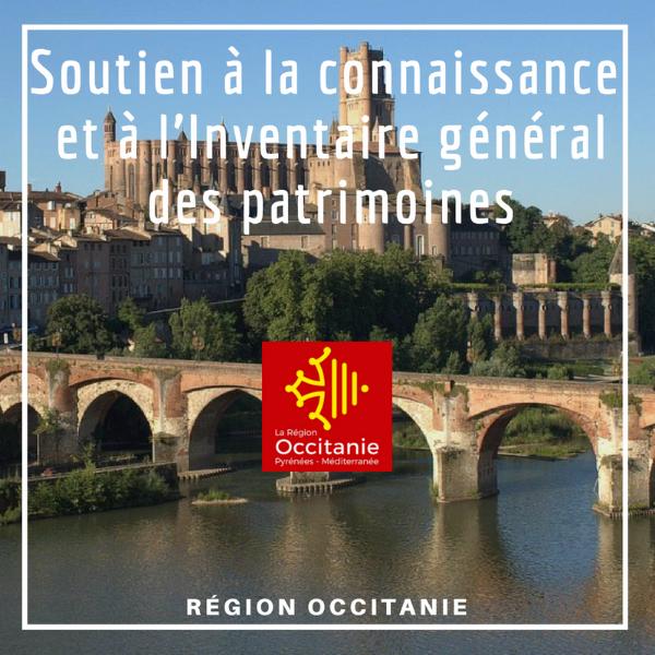 Soutien à la connaissance et à l'Inventaire général des patrimoines - Occitanie
