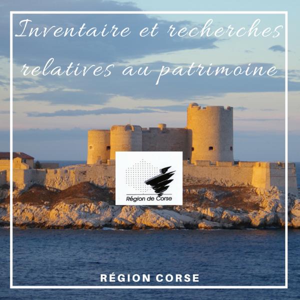 L'inventaire et les recherches relatives au patrimoine - Corse
