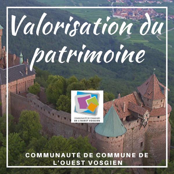 Valorisation du patrimoine - Ouest Vosgien