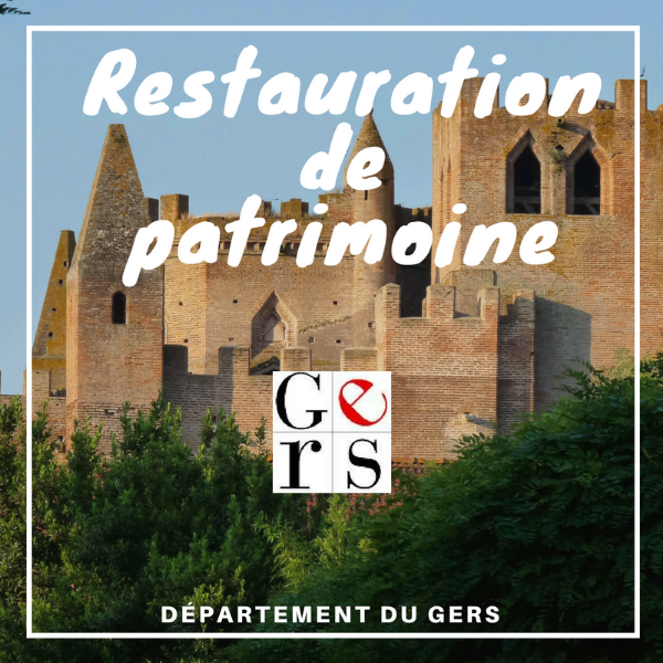 Restauration du patrimoine - Gers