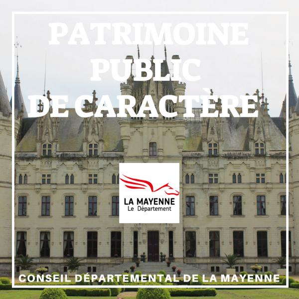 Restauration du patrimoine public de caractère - La Mayenne