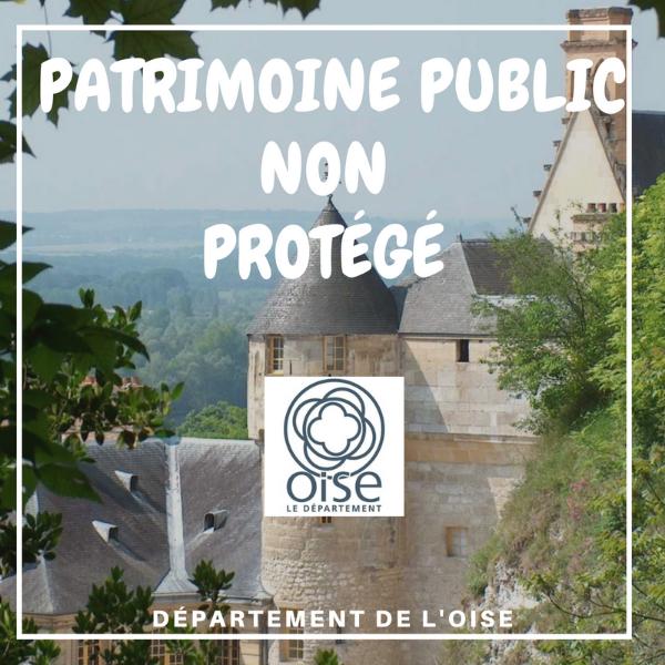 Patrimoine public non protégé - Oise