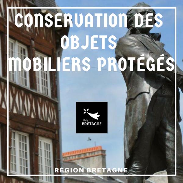 Soutenir les actions de conservation des objets mobiliers protégés - Bretagne
