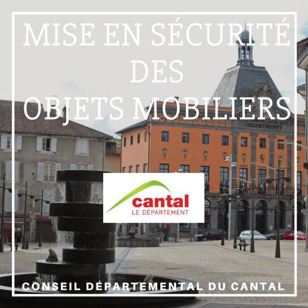 Plan de mise en sécurité des objets mobiliers dans les édifices cultuels - Cantal