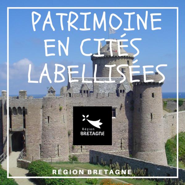 Valorisation du patrimoine en cités labellisées - Bretagne