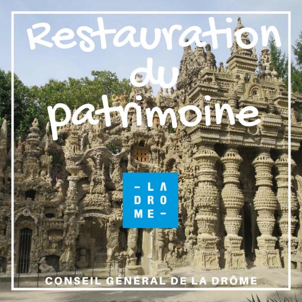 Aide à la restauration du patrimoine - Drôme