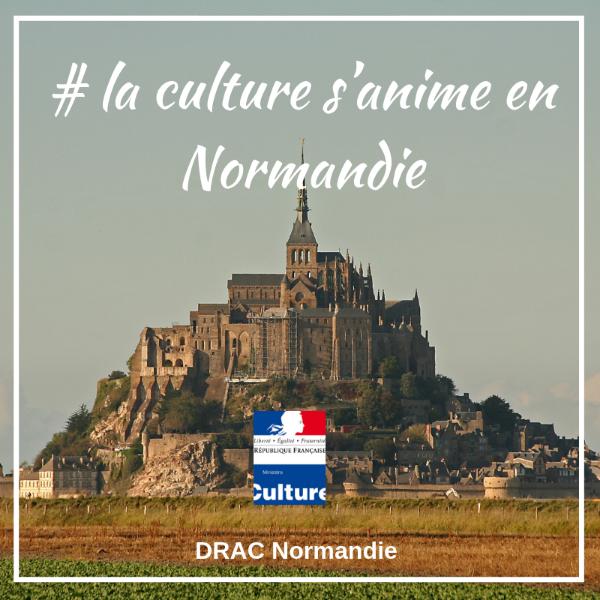 Appel à projet #La culture s'anime en Normandie