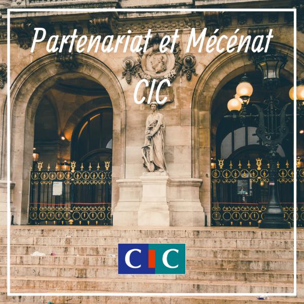 Partenariat et Mécénat - CIC