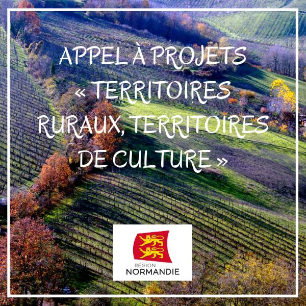 Appel à projets « Territoires ruraux, territoires de culture » 2018/2019