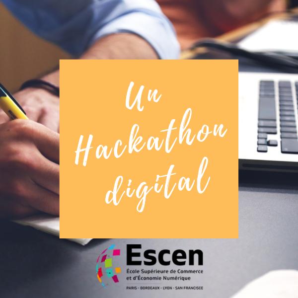 Prix Hephata x ESCEN - Hackathon digital de 3 jours