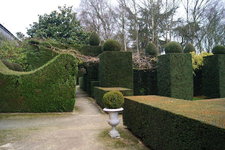 Recevoir du public dans les jardins classés