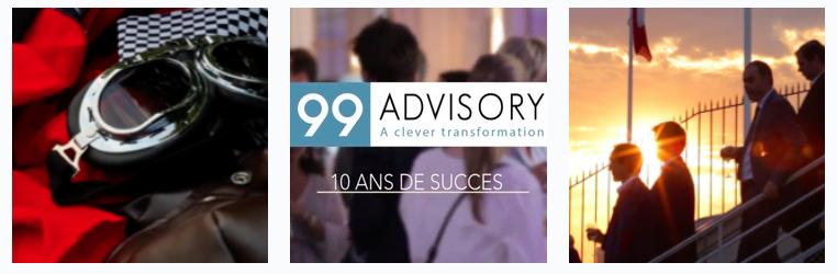 99 Advisory fête ses 10 ans sur la place de la Concorde