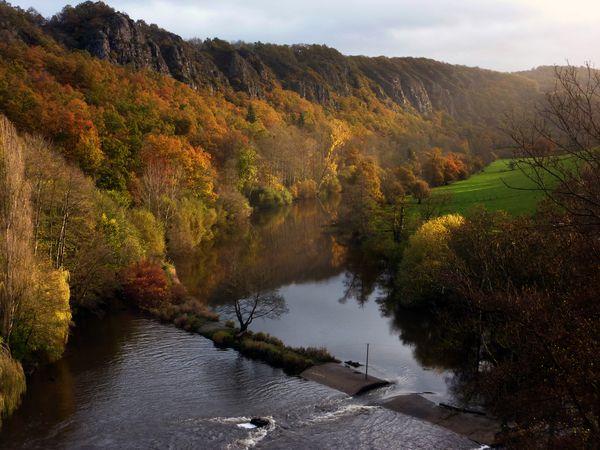 Une image contenant extérieur, ciel, eau, rivière  Description générée automatiquement