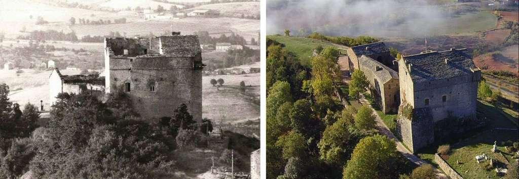 Une image contenant texte, vieux, château  Description générée automatiquement